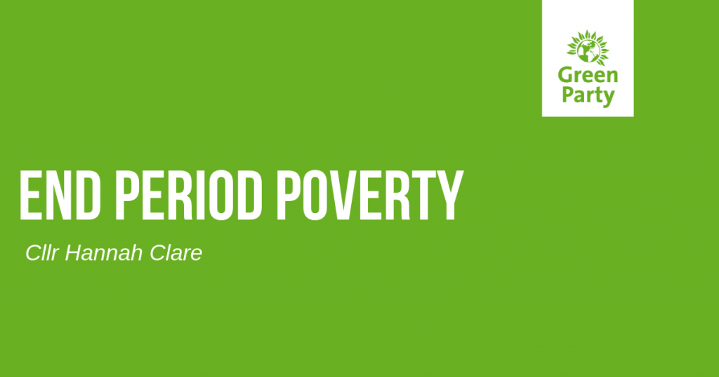 Period poverty is on it's way out but the journey isn't over