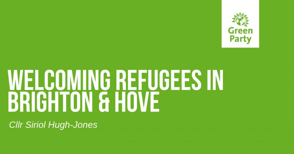 Refugee Week Brighton Green Councillor