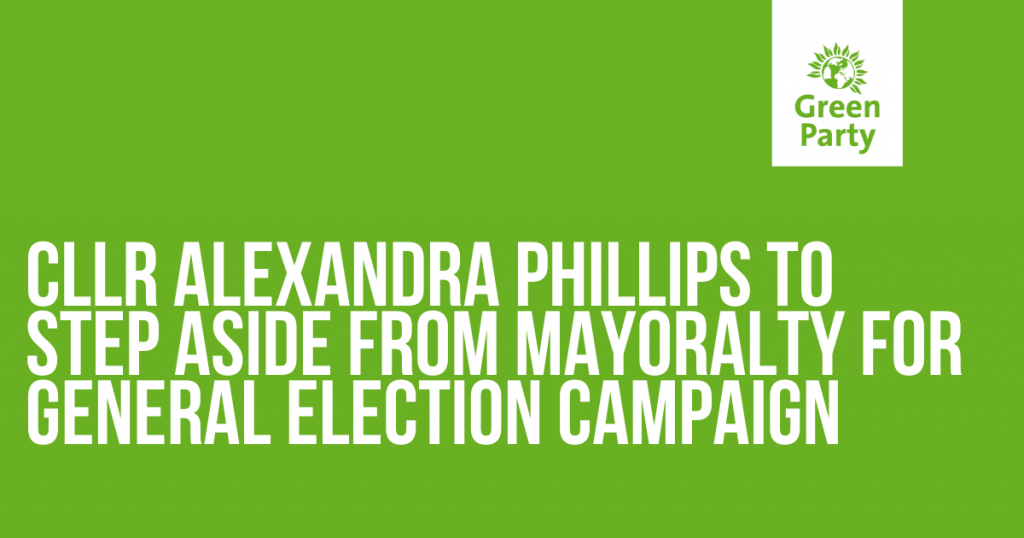 Cllr Alexandra Phillips to step aside from mayoralty during General Election campaign