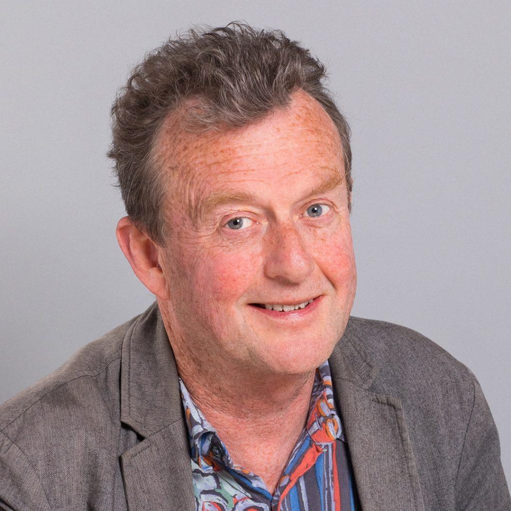 Portrait of Green Councillor David Gibson