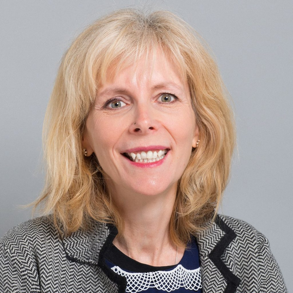 Portrait of Green Councillor Elaine Hills