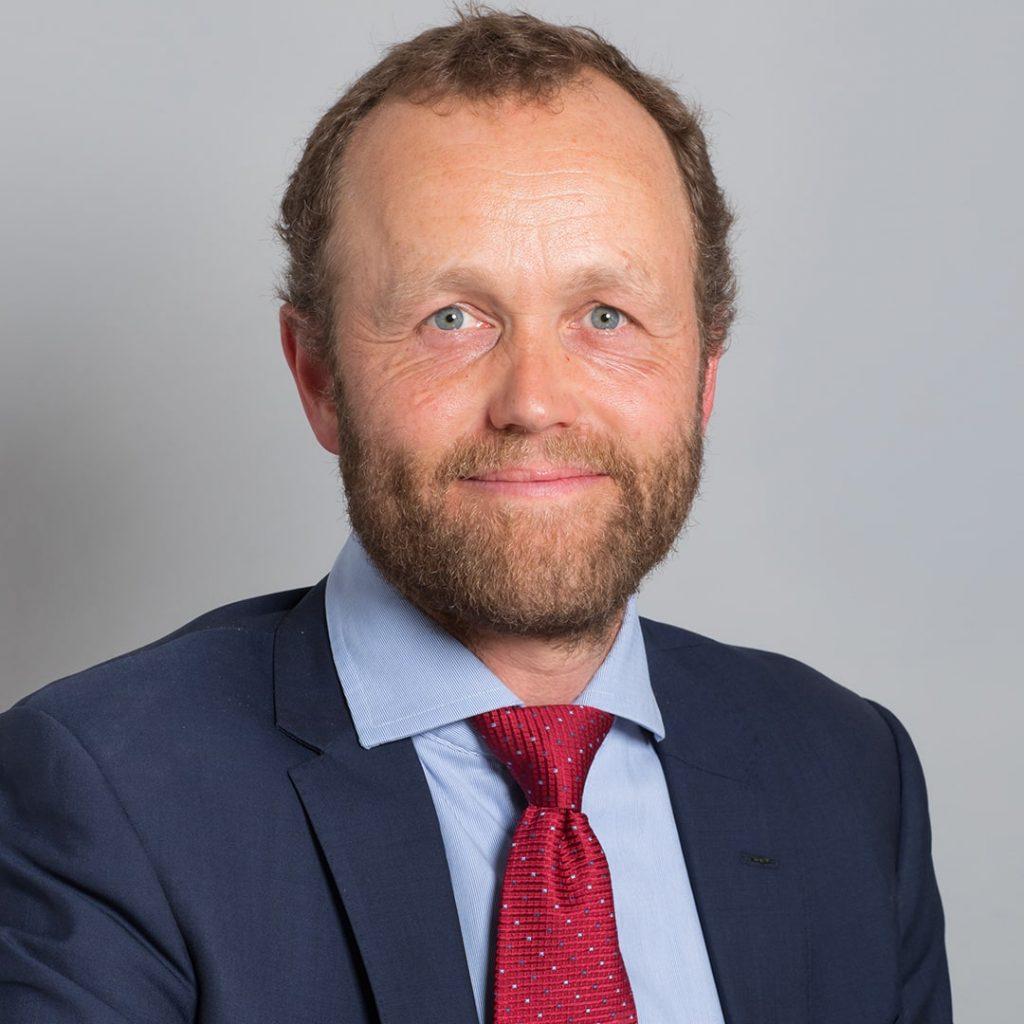 Green councillor Tom Druitt of Regency ward